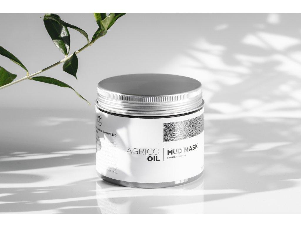 Agrico-Oil pleťová maska s bahnem z mrtvého moře s arganovým olejem 150ml