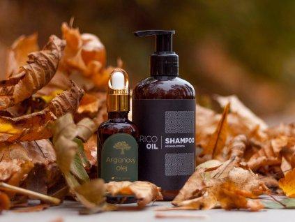 Sada vlasové kosmetiky s arganovým olejem
