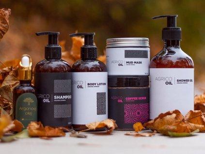 Sada tělové kosmetiky s arganovým olejem