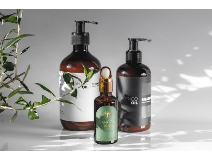 Agrico-Oil koupelový set s arganovým olejem