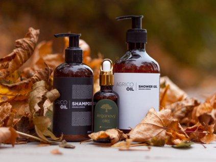 Koupelový set s arganovým olejem