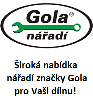 Nářadí značky Gola za příznivé ceny!