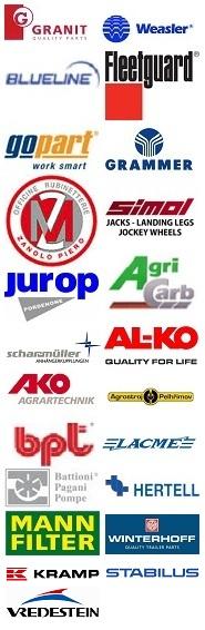 seznam prodávaných značek