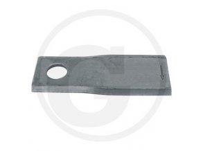 Nůž vyhnutý levý 87x40x3 OE16,25
