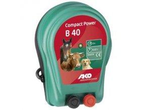 Elektrický ohradník bateriový Compact Power B 40 (určen pro koně, psy, malá zvířata)