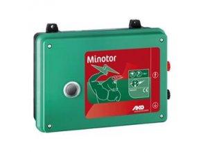 Elektrický ohradník síťový MINOTOR - optická kontrola ohrady a uzemnění (určen pro skot, ovce, koně, divokou zvěř)