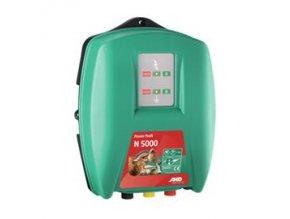 Elektrický ohradník síťový Power Profi N 5000 - optická kontrola ohrady a uzemnění (určen pro skot, ovce, koně, divokou zvěř)