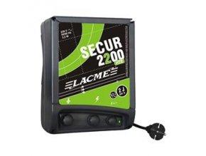 Elektrický ohradník síťový SECUR 2200 HTE (1800 HTE) - optická kontrola ohrady, 2 výstupy (určen pro skot, koně, divokou zvěř)