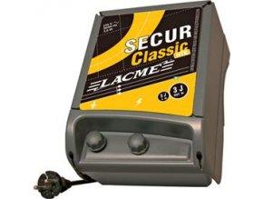 Elektrický ohradník síťový SECUR CLASSIC HTE - optická kontrola provozu (určen pro skot, ovce a koně)