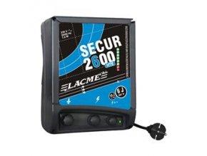 Elektrický ohradník síťový SECUR 2600 HTE, optická kontrola ohrady, 2 výstupy (určen pro skot, ovce, koně, divokou zvěř)