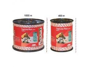 Polyetylenové lanko pro elektrické ohradníky 3 mm TriCOND 1000m