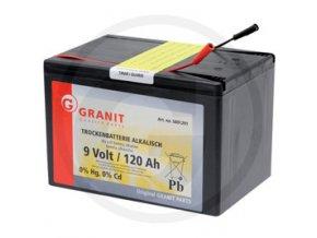Baterie Alkalická 9V/120Ah