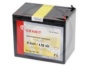 Baterie Alkalická 9V/160Ah