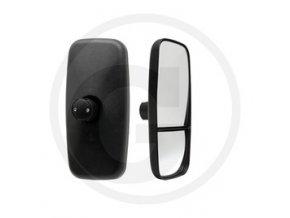 ZRCÁTKO manuálně nastavitelné 384 x 184 mm pro rameno zrcátka OE 16-28 mm, obě zrcátko manuálně nastavitelná