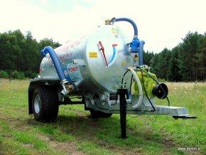 Fekální vůz 2 500 litrů T 507/2