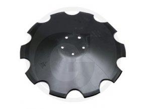 Disk ozubený, OE 520 x 6 mm, 5 děr