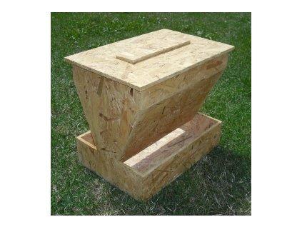 Dřevěné hnízda a krmítka od českého výrobce