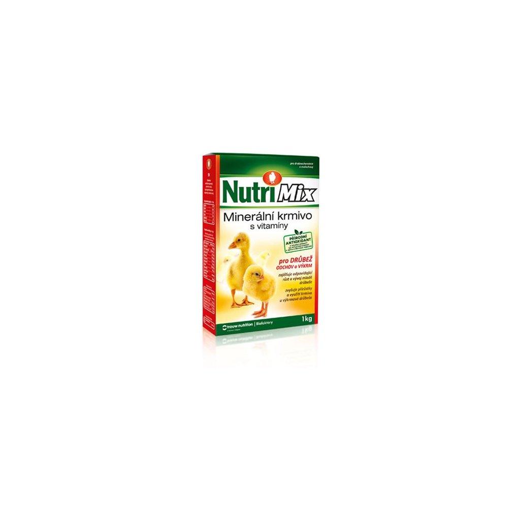 nutrimix pro vykrm a odchov drubeze vitaminy pro kurata kachnata housata krutata 1 kg