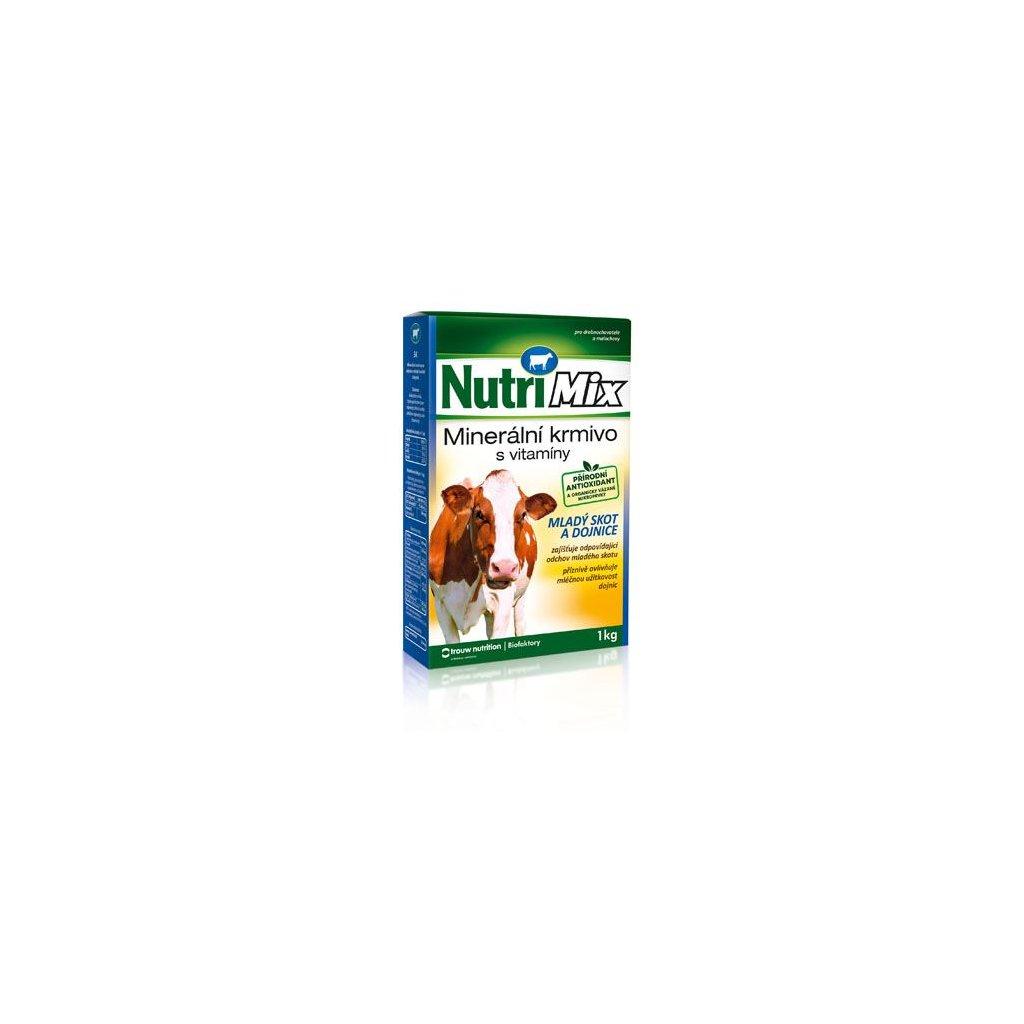 nutrimix pro dojnice kravy mlady skot doplnkove mineralne vitaminove krmivo 1 kg