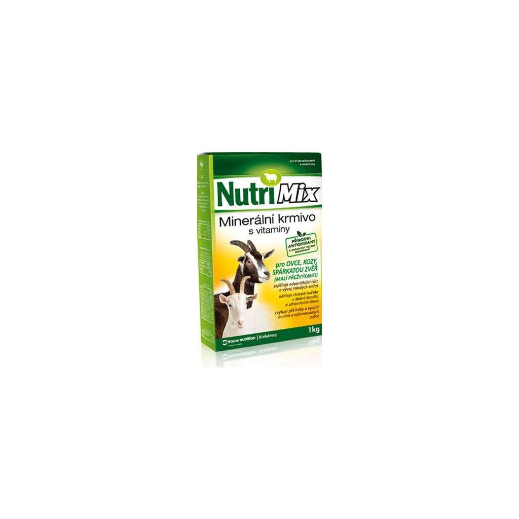 nutrimix pro ovce kozy sparkatou zver doplnkove mineralne vitaminove krmivo 1 kg