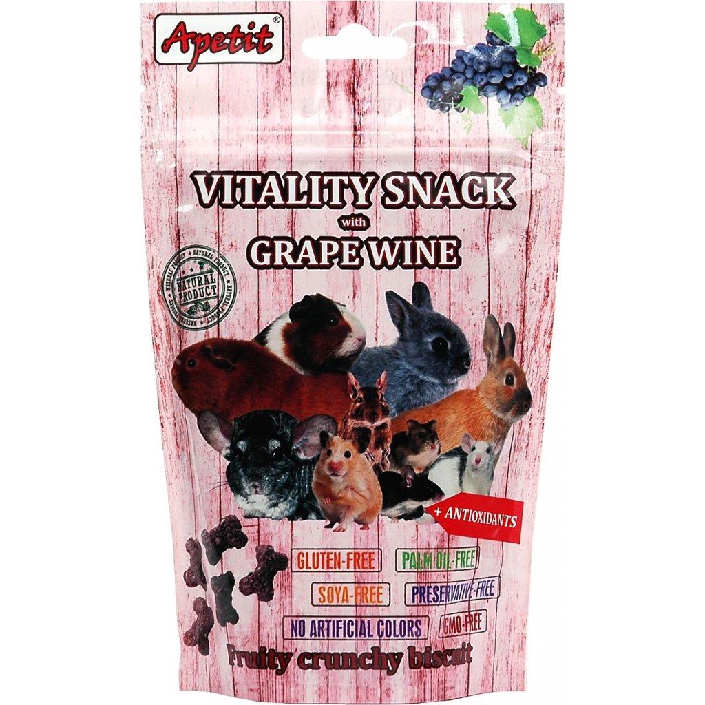 Vitality snack grape wine 01
