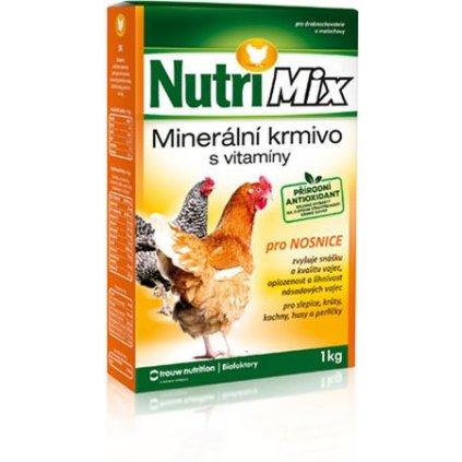 nutrimix pro nosnice vitaminy pro slepice kruty kachny husy perlicky 1 kg