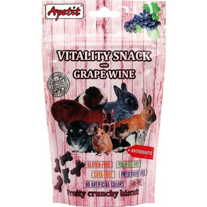 Vitality snack grape wine 01