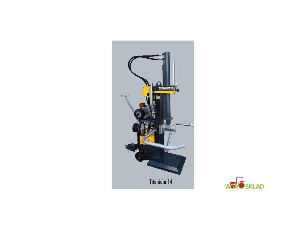 Štípač na dřevo TITANIUM 14 E pohon elektromotor v. č. 19