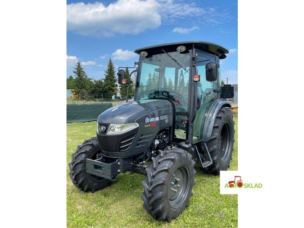Traktor Branson 5025 C - Black edition