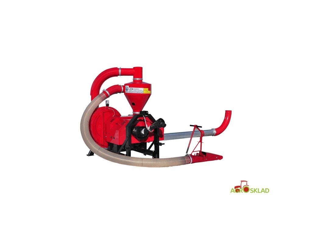 Zrnomet T 450/1, saco - tlačný, traktor
