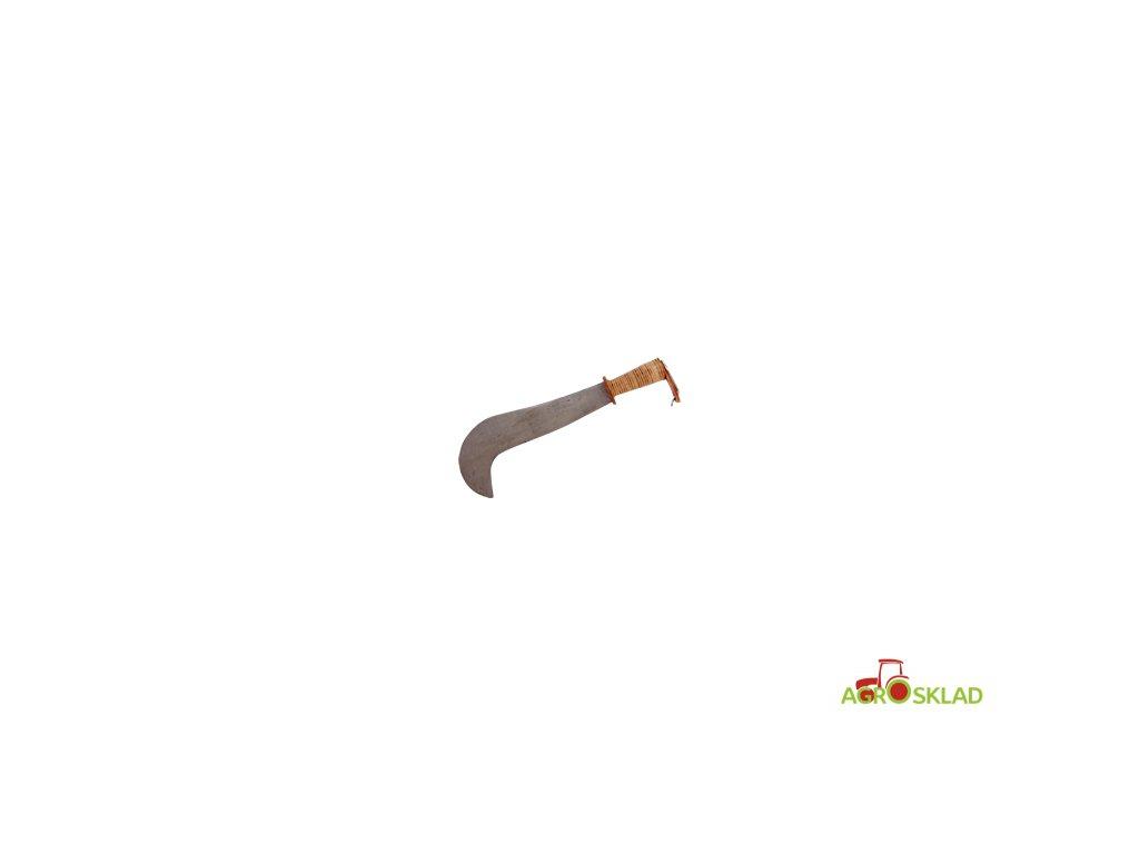 Mačeta s koženou rukojetí