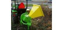 Špalíkovač dělič dřevního odpadu BOBR 75T