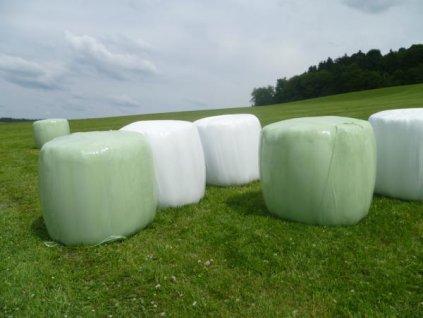 Zemědělská ovíjecí strečová fólie 750 mm s návinem 1 500 m zelená