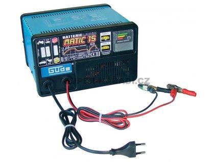 Nabíječka baterií GL-Matic 15 (Mikroprocesorově řízená nabíječka, rychlonabíjení)