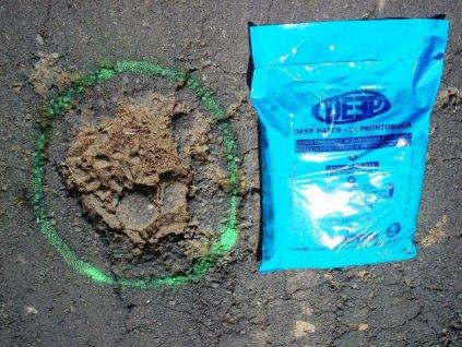 Studená asfaltová opravná směs 25 kg