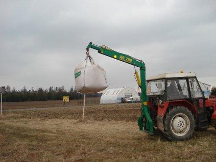 AGRO RUKA AR 700 - čtyři rychlospojky
