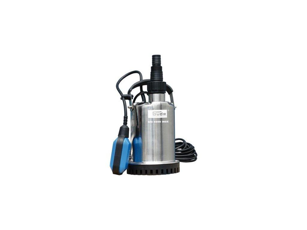 guede cerpadlo na plytku vodu gfs 4000 inox
