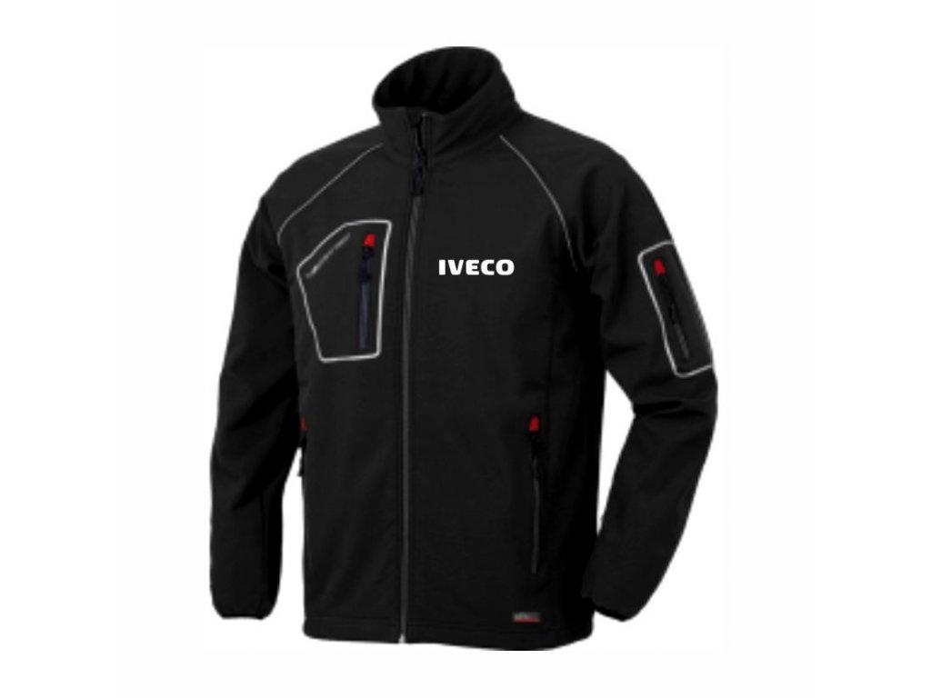 Softshellová bunda černá IVECO – Issa Line