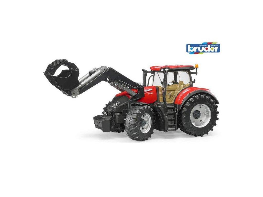 Traktor CaseIH Optum 300CVX s čelním nakladačem