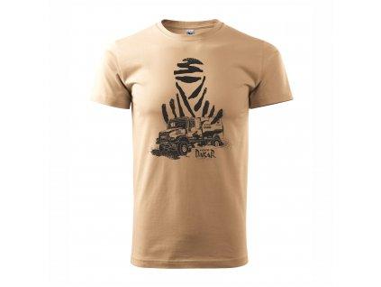 Tričko pískové IVECO Dakar