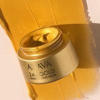 Minerální bahenní maska s 24K zlatem