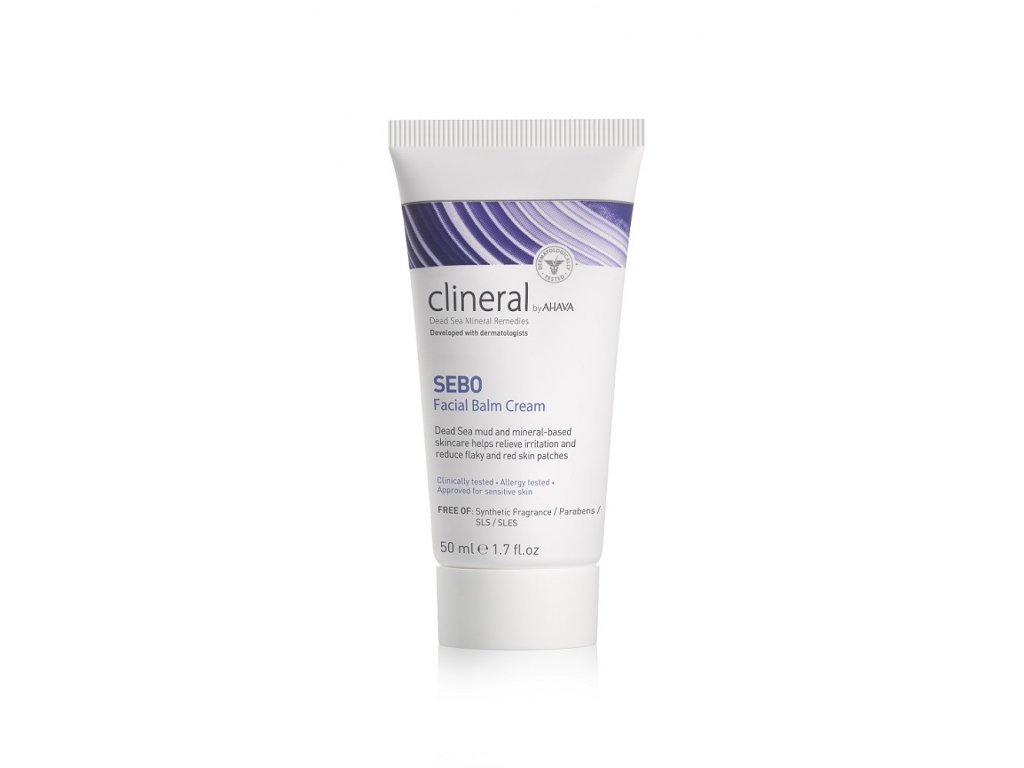 1259 sebo facial balm cream tube front