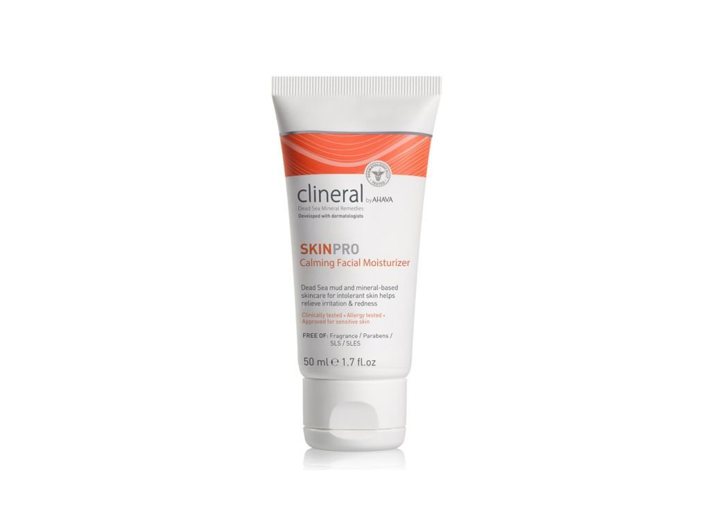 1280 clineral 2016 skinpro calming facial moist 50ml