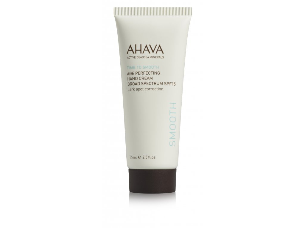 SMOOTH Age Perfecting Hand Cream SPF15 tube front