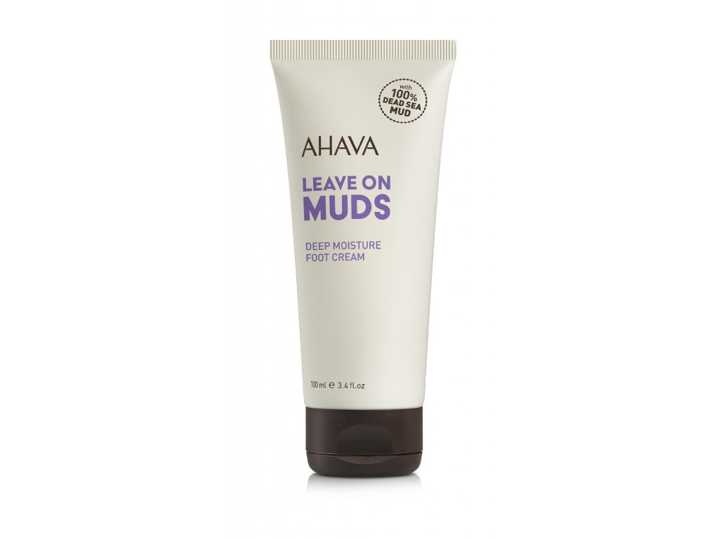 Leave on Mud foot cream tube RGB low