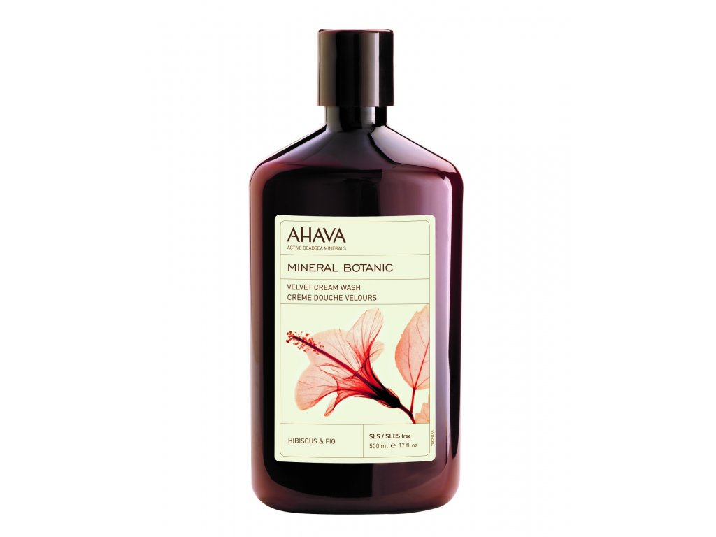 Mineral Botanic Cream Wash Hibiscus 500ml