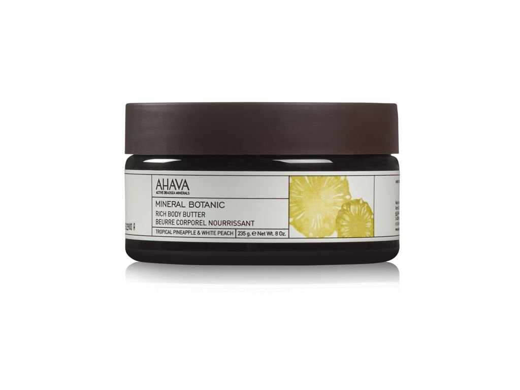 Rich Body Butter Tropical Pineapple & White Peach front