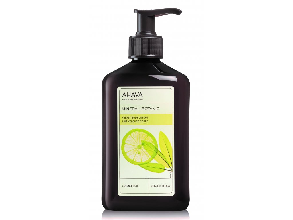 Velvet Body Lotion Lemon & Sage front