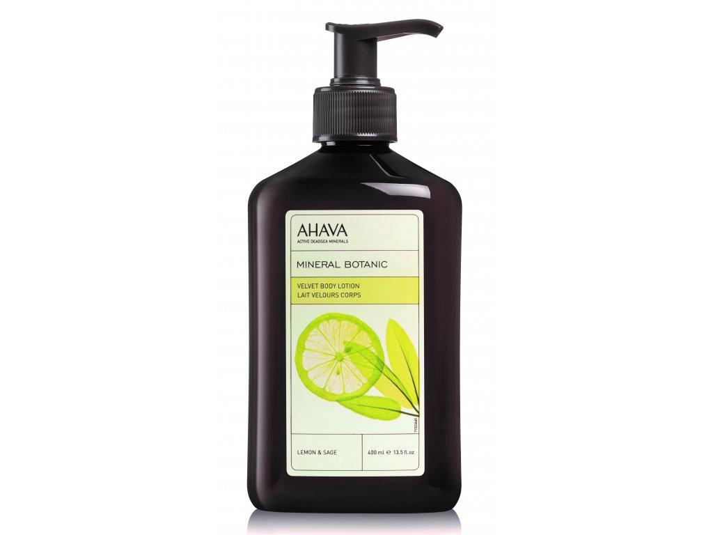 Velvet Body Lotion Lemon & Sage front