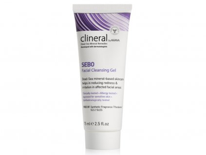 1256 clineral 2015 sebo facial cleansing gel 75ml 1500x15002